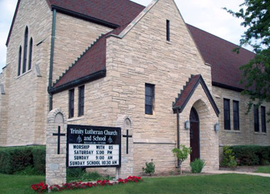Trinity Lutheran Church in Menasha, Wisconsin